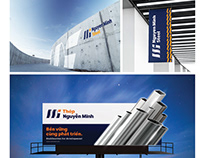 Brand Indentity - NMI Steel