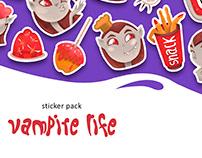 Vampire Life Sticker Pack