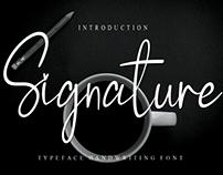 FREE | Signature Font