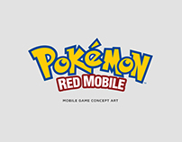 Pokémon Red Mobile - Concept Art