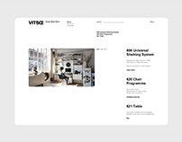 vitsœ / website redesign concept