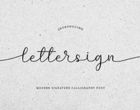 FREE | Lettersign Script