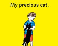 My precious cat | picture books