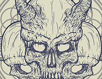 Just Skulls, Horns and Dead - Poster
