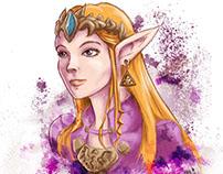 Princess Zelda (Fanart)