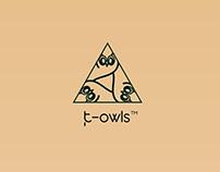 t owls Branding