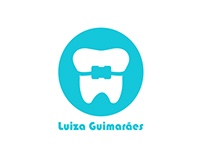 Dentist Luiza Guimarães  -  Visual identity with manual