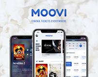 UX/UI - Moovi cinema ticket app