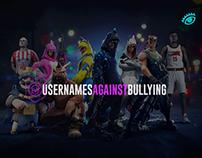Usernames against bullying