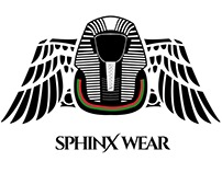 Sphinx Wear Logo Concepts & Final Logo Design
