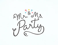 Mr & Ms Party | Branding & Web