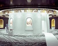 Концепция выставочного пространства для Парка Зарядье