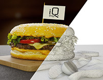 """Bakery-Burger"" In-store Promotion"