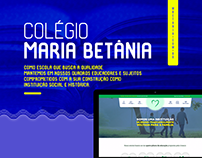 WebSite & Social Media | Colégio Maria Betânia
