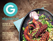 Covers El Gourmet Mexico 2015