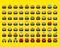 Camber Emoji Family