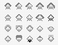 diamond square icons