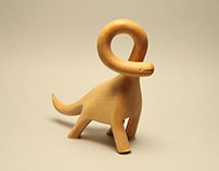 Lemon Wood Dino