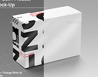3D Box / Product Mock-Up v.2