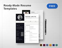 10+ Resume Templates & Designs