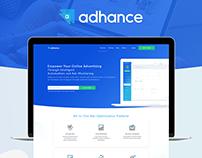Adhance. Online advertising service