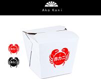 Aka Kani Japanese Restorant Logo Concept (G.Design)