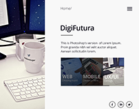 Working on website concept