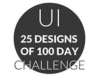 25 UI Inspiration