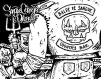 BSCB - Sangue Cerveja e Glória (album cover)