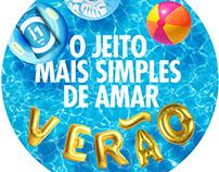 Jeito condom - Summer campaign