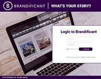 UI/UX for Brandificant Sales Enablement Platform