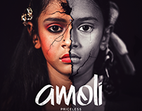 Amoli : Priceless (Graphic & Publicity Design)