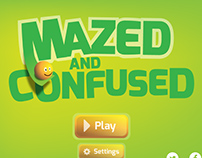 Mazed and Confused Game Ui + Logo