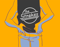 The strokes Article Illustrations