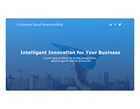 Corporate Social Responsibility page for JET BI company