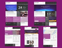 Franklin University Website Design