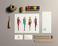 Amsel Grove Fashion Label Design