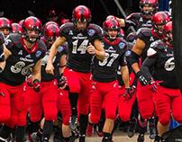 College football team