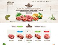 Farm food e-commerce
