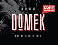 Domek - Free Font