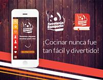 App Recetario Banquete