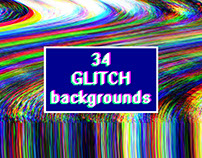 Glitch background. Screen error