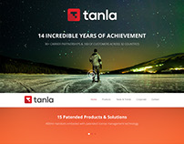 Tanla - Corporate Website Design