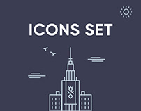 Icons Set by Blue Ant Team