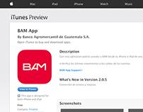 BAM App 2.0