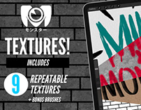 Textures! For Procreate
