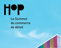 Hop, Le Sommet du commerce de détail - Identité