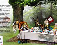 Website Design - Alice in the Village