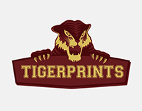 Tigerprints logo design