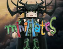 Thor Ragnarok Minimates - Villains